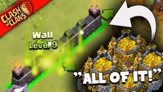 "Clash of Clans: ""WE SPENT IT?"" CRAZY BASES GIVE US MILLIONS"