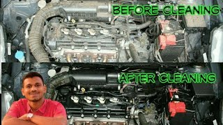 how to clean Car engine bay