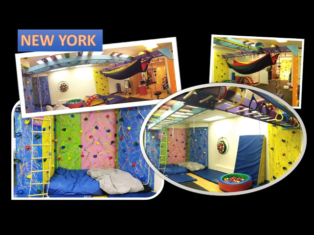 Fun Factory Custom Sensory Therapy Play Gyms Installed in United States