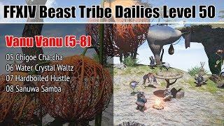 FFXIV Daily Quests (05-08) - Beast Tribe Vanu Vanu - Level 50 - Heavensward