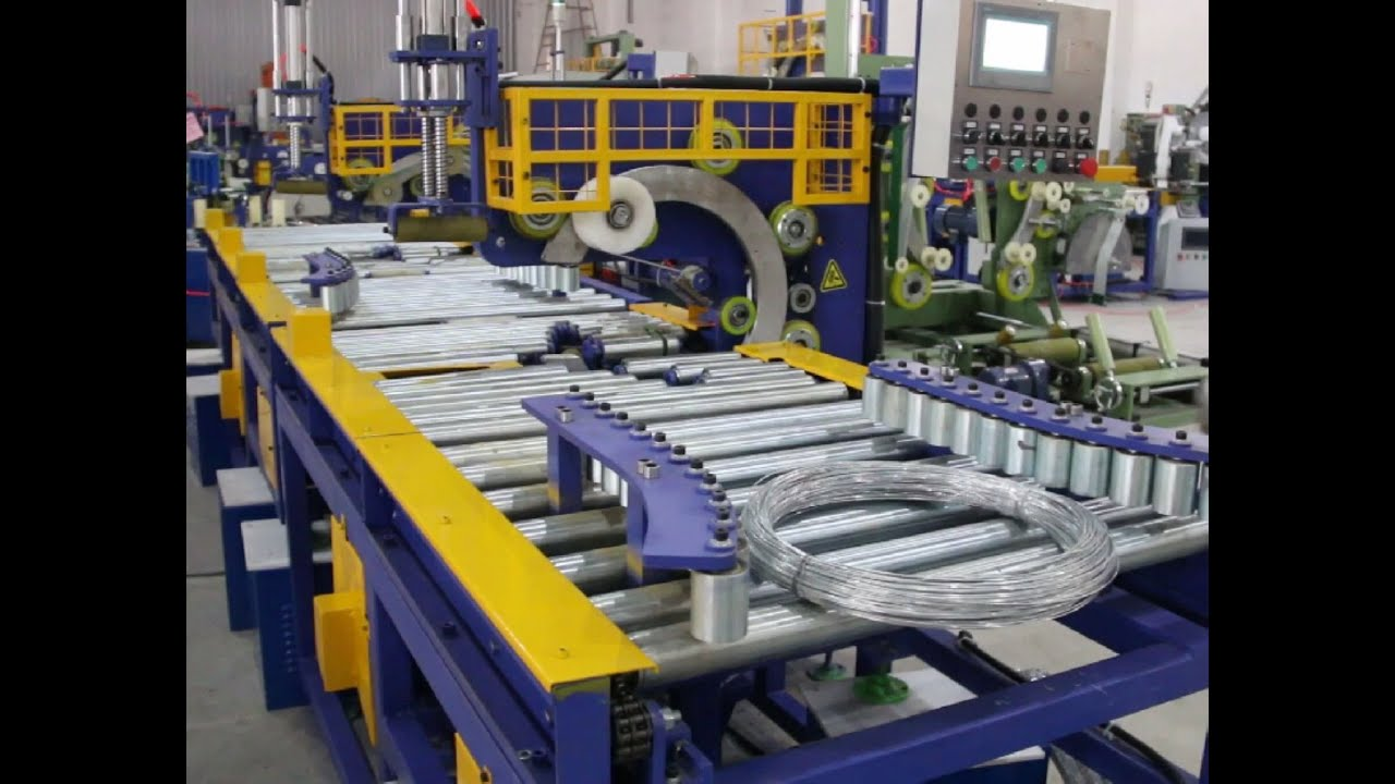 Automatic Wire Coil Wrapping Machine