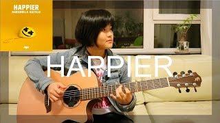 Happier - Marshmello ft. Bastille (fingerstyle guitar cover) (free tabs)