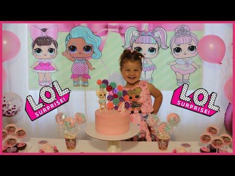 День рождения Алёны. День рождения в стиле куклы LOL. Детский праздник в стиле LOL.