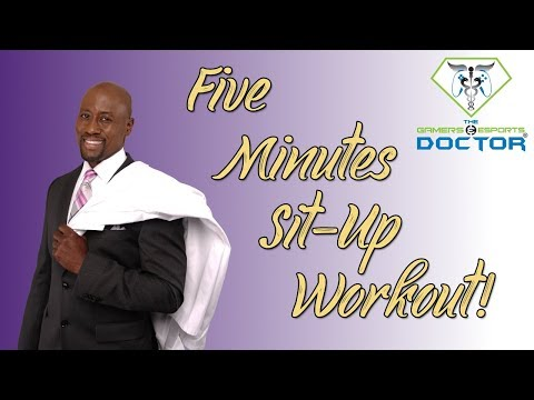 5 Minute Sit-Up Workout