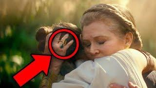 STAR WARS Rise of Skywalker Trailer BREAKDOWN! Palpatine & Leia Explained!