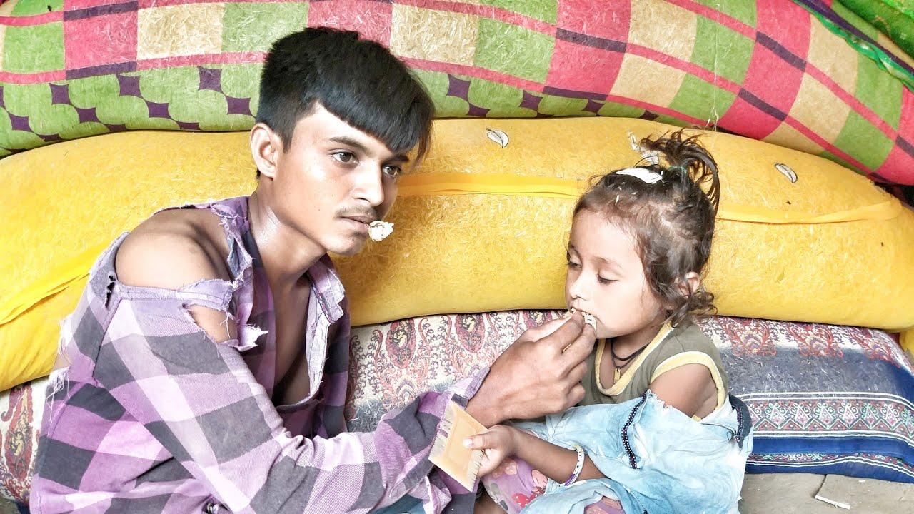 બે નાની ગરીબ અનાથ બહેનો અને અપંગ અનાથ ભાઈ//સામાજિક વિડિયો//દિકરી વિડિયો//Patan Gujju
