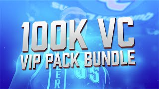 NBA 2K15 My Team Pack Opening - 100K VC VIP Pack Opening Bundle! PS4