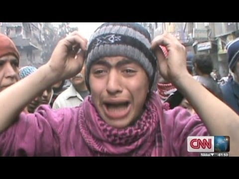 Syrian refugee's cry for help