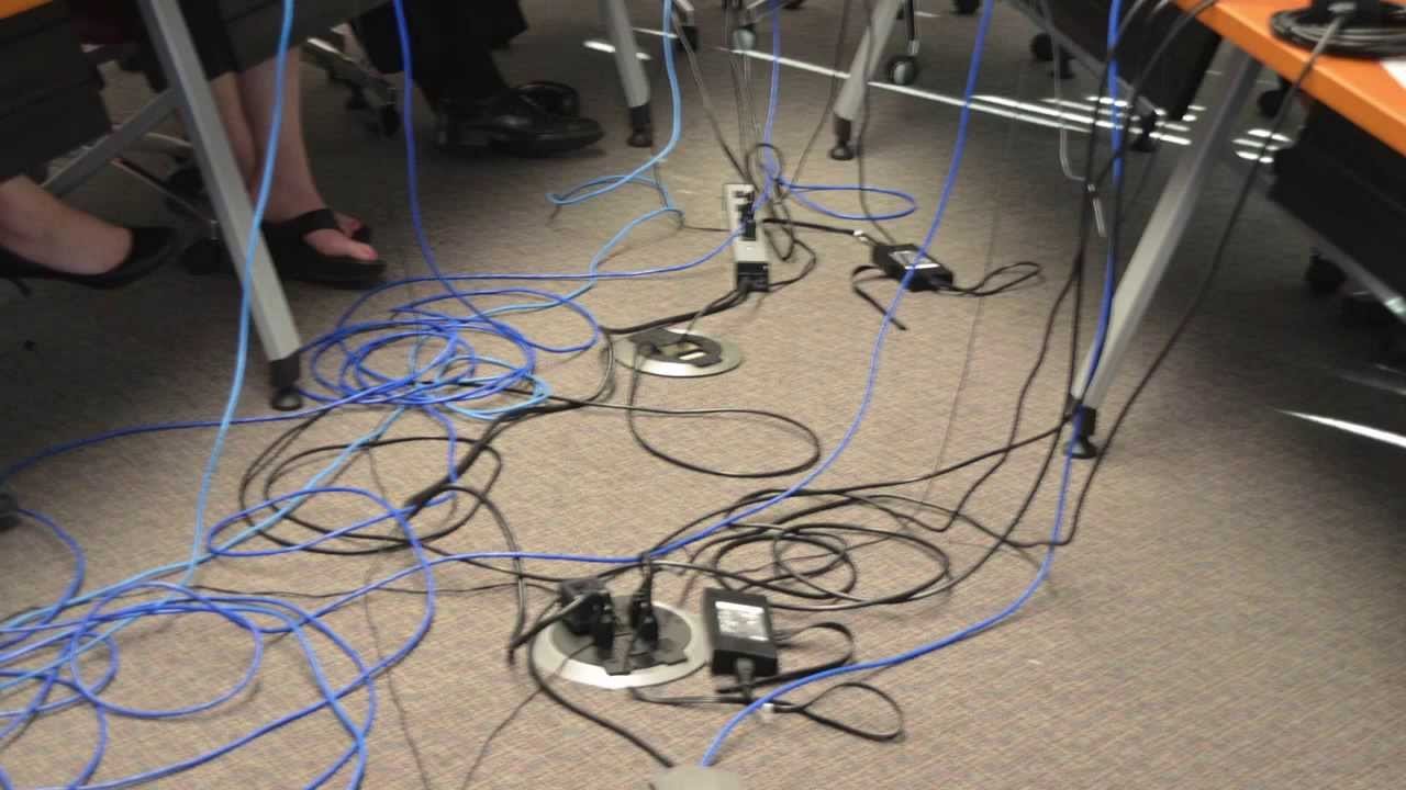 Wiremold How To Reduce Cable Clutter In A Video