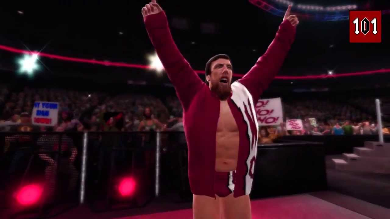 Wwe 2k14 Daniel Bryan Yes Entrance WWE 2K14 - Daniel Brya...