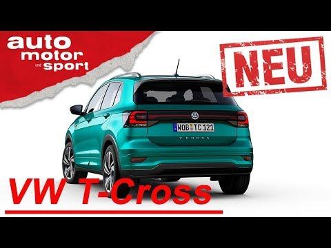 NEU: VW T-Cross: Ist das der bessere Polo?  | Neuvorstellung (Review) | auto motor und sport