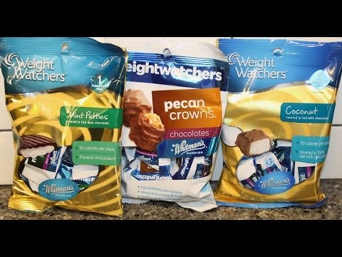 weight-watchers-by-whitman's-candies:-mint-patties,-pecan-crowns-&-coconut-review