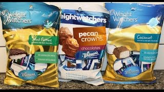 Weight Watchers By Whitman's Candies: Mint Patties, Pecan Crowns & Coconut Review
