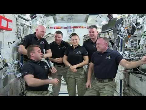 Expedition 41 Crew Hands Over Reins of ISS, Prepares to Head Home