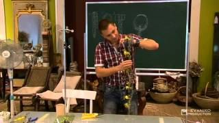 """Уроки флористики: Украшение, заменяющее букет невесты   """"Браслет"""""""