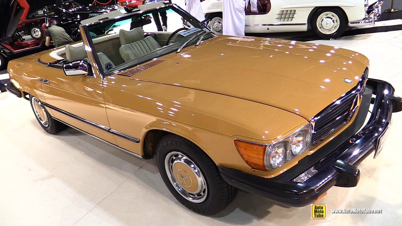 1976 Mercedes Benz 450 SL Walkaround