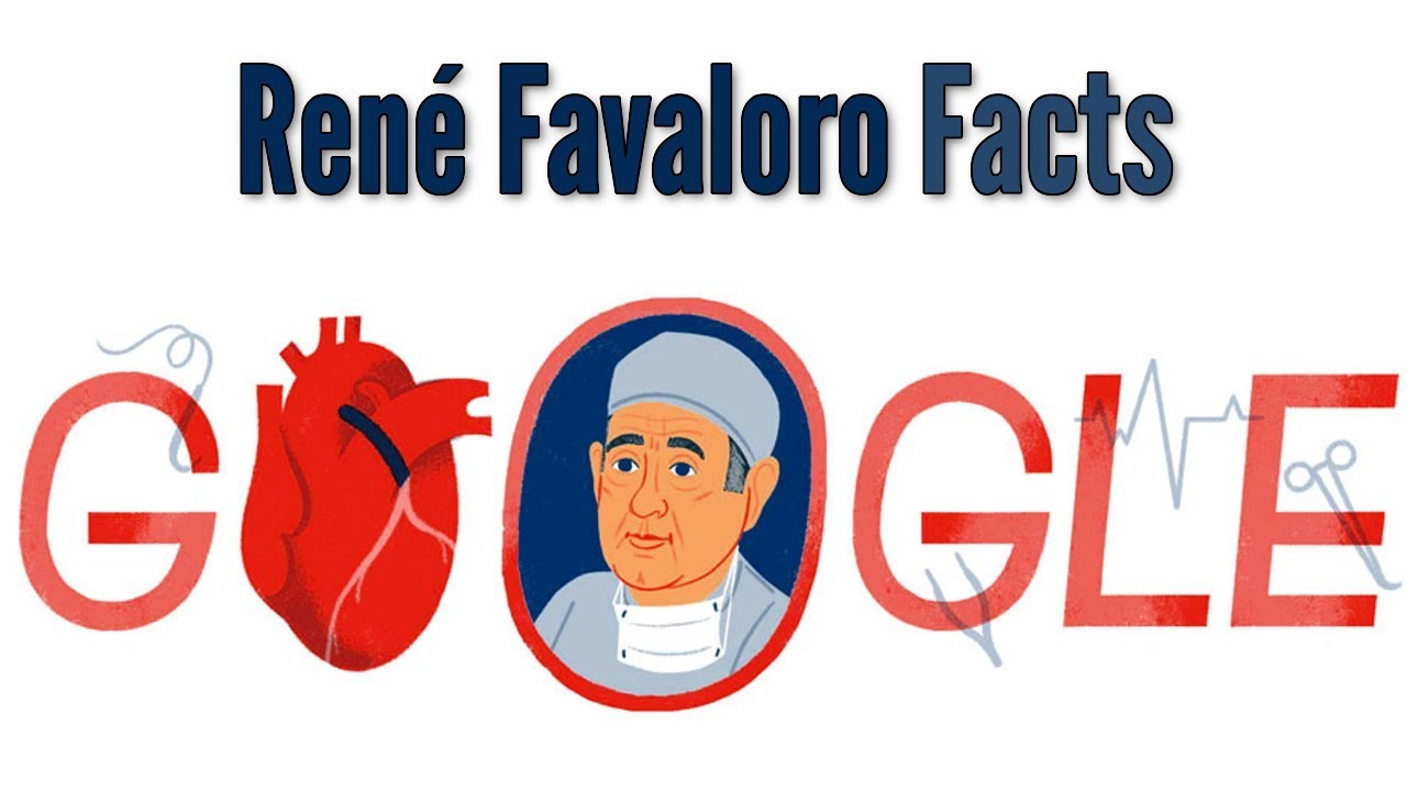 Ren Favaloro: Heart surgery pioneer celebrated in Google doodle