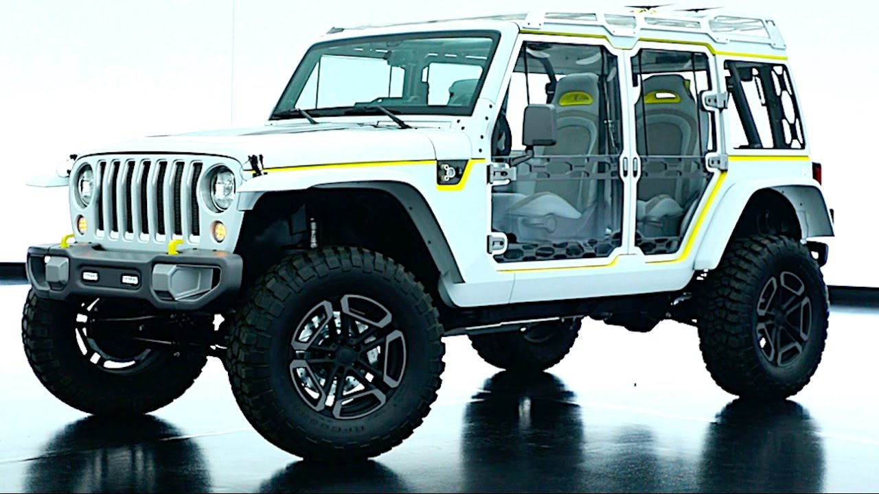 2017 Jeep Safari Wrangler Concept Video Exterior Interior New Carjam Tv