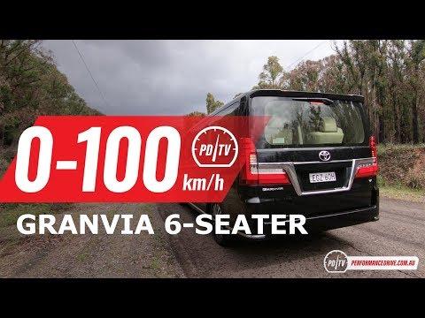 2020 Toyota Granvia 0-100km/h & Engine Sound