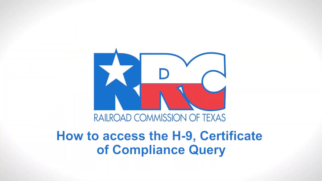 How to Access the H-9 Certificate of Compliance Query ...