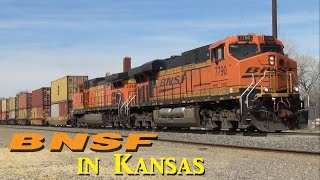 BNSF on the Prairie: Saffordville and Strong City, Kansas