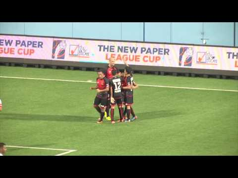 The New Paper League Cup: Brunei DPMM FC vs Warriors FC (13 July 2016)
