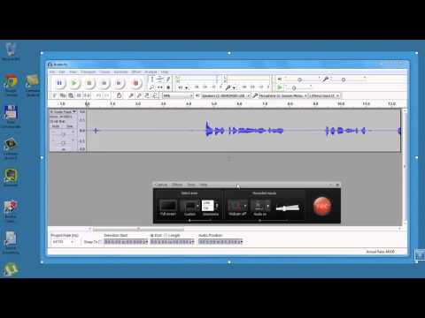 CS8 ตัวอย่างอัดเสียง-คลิป แยกกัน