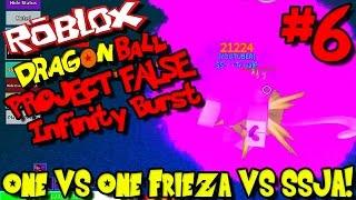 1v1: FRIEZA VS SUPER SAIYAN AMETHYST! | Roblox: Dragon Ball Project False Infinity Burst - Episode 6