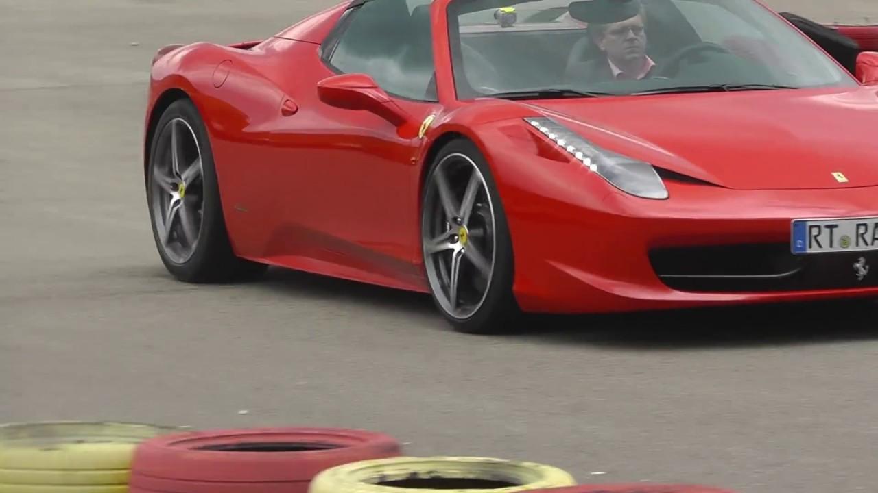 2014 Ferrari 458 Spider >> Paravan Space Drive 2 Steer-by-wire: Extremtest in einem ...