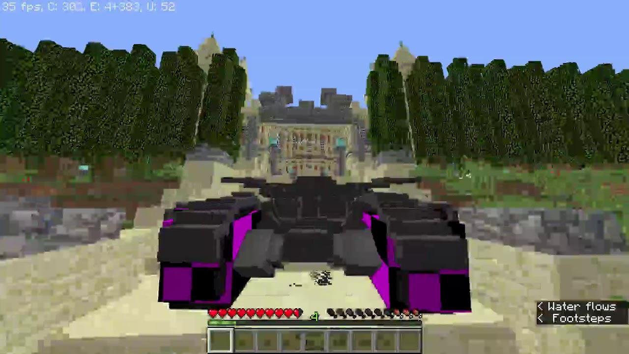 Minecraft Gotham City Adventure Map exploring Gotham with Batmobile ...