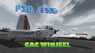 FSX / P3D Review - Aussie Ants CAC Winjeel