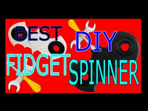 DIY FIDGET SPINNER - With Or Without Bearing! SUPER RARE Batman, MELTING BEST FIVE WAYS!