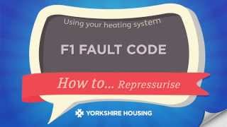 using your heating system f1 fault code