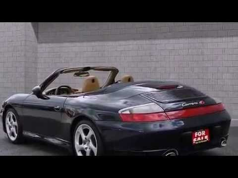 2004 Porsche 911 Carrera 4s Cabriolet Leather 18alloys Convertible