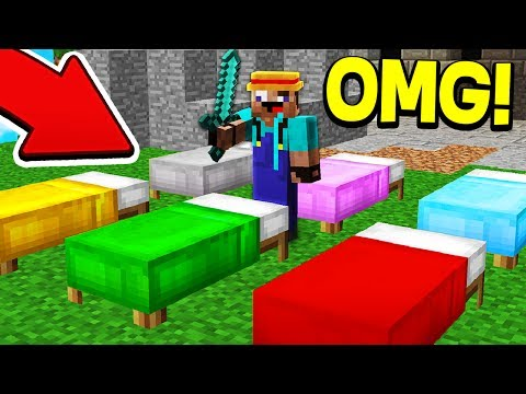 IMPOSSIBLE RAINBOW BED CHALLENGE!
