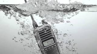 the ic 41w icom s waterproof uhf cb
