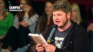5. Bielefelder Hörsaal-Slam - Jan Philipp Zymny - Finaltext - Campus TV 2013