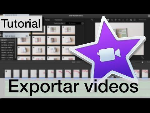 Cómo exportar videos y convertirlos en archivos #10| Curso iMovie