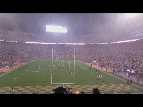 Neyland downpour - LSU @ Tennessee