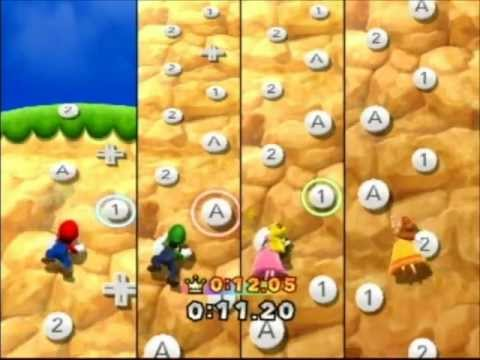 Mario Party 9: Regular Minigame - Peak Precision