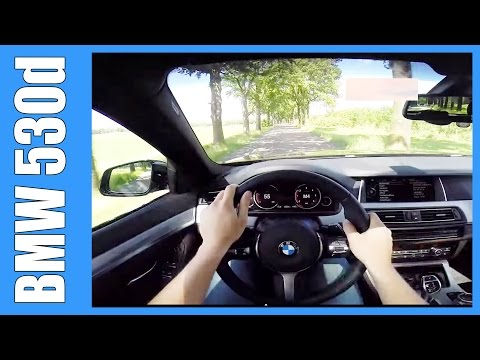 POV BMW 5 Series Touring 530d F11 M-Sport GREAT! OnBoard Acceleration Test Drive