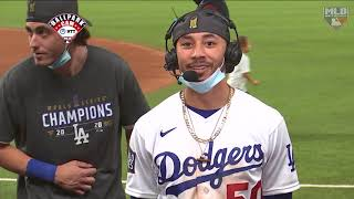 Mookie Betts and Cody Bellinger join MLB Tonight as 2020 World Series Champs