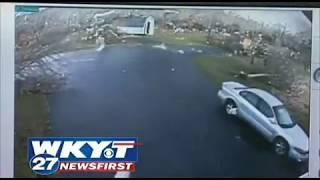 Home Security Cameras Catch Tornado Video