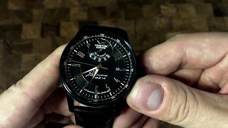 This Sporty Power Reserve Watch Is For Car Guys - Vostok-Europe GAZ-14