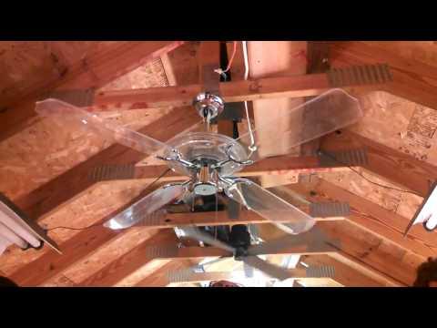 Beverly Hills Fan Co/Design House Neon Ceiling Fan