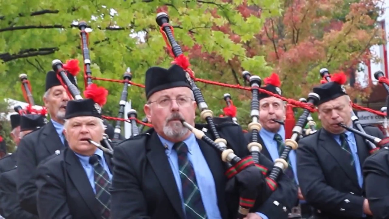 Bagpipe tune cock of the north