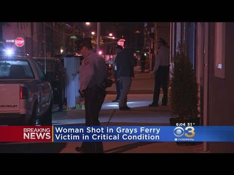 Woman Shot in Grays Ferry
