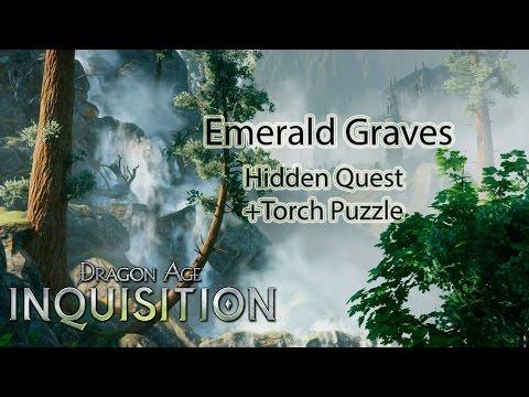 The Lion's Pavilion torch puzzle - Hidden Quest - Dragon Age Inquisition