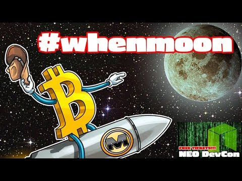 When Will Bitcoin Go Back Up #whenmoon + NEO DevCon Ticket Winners