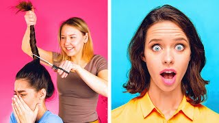 17 GENIUS IDEAS FOR GIRLS || HAIR AND MAKEUP TRANSFORMATIONS